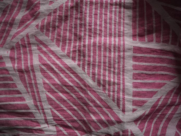 Sjala woven wrap - all of these lines - millions