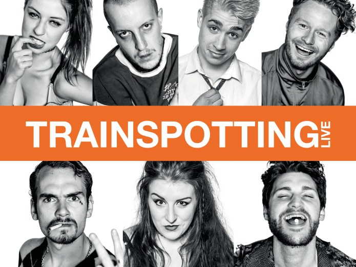 image of the cast from trainspotting live