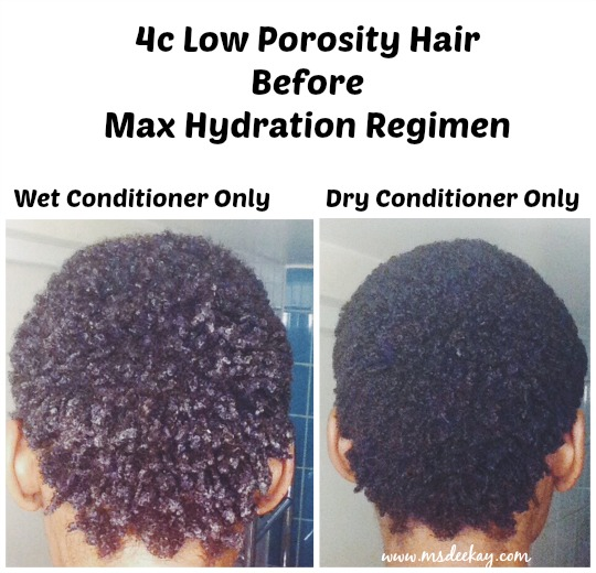 Maximum Hydration Method On 4c Hair Before And After