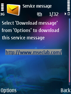 Download Message Notification