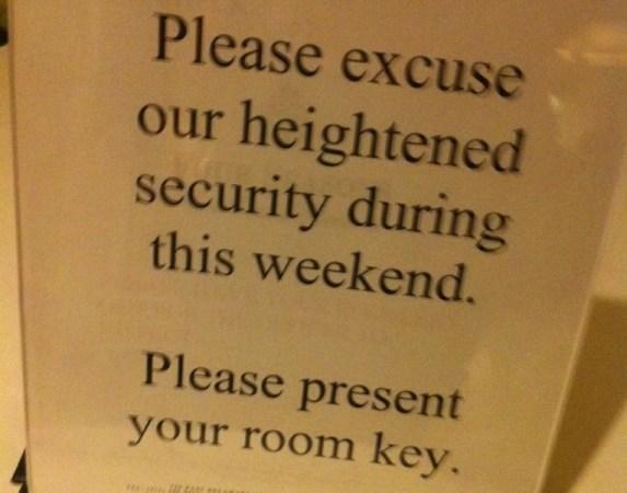 Güvenlik özrü
