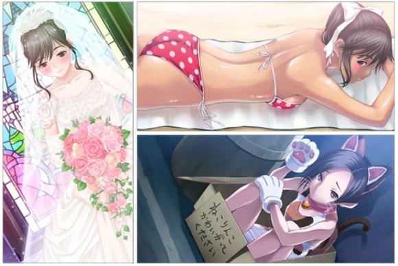 Flört oyunu Love+'ta karakterleriniz bu çizimlerle 'can buluyor'.