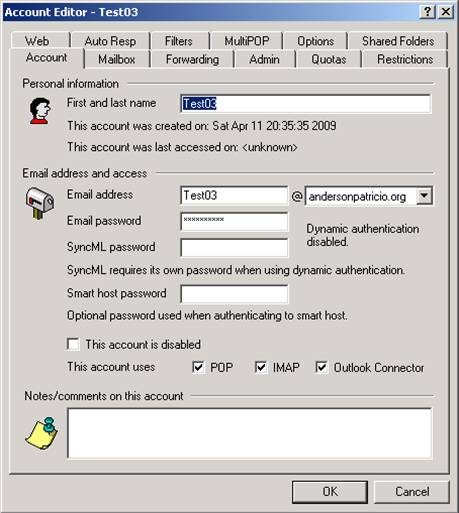 Moving From MDaemon To Exchange Server 2003 2007 Part 7