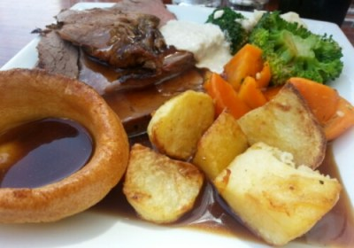 Sunday Roast Brouge at The Old Goat