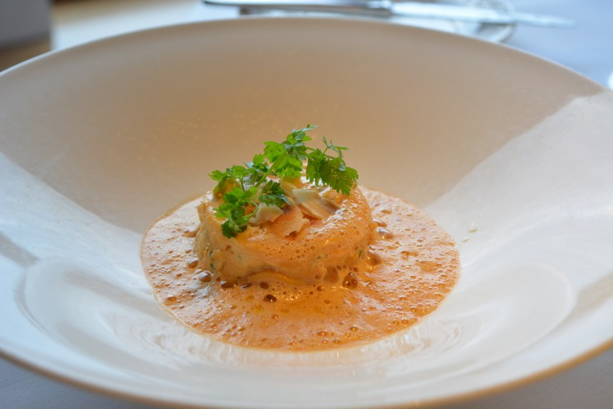 Steamed Lasagne of Cornish Crab The Petersham Richmond