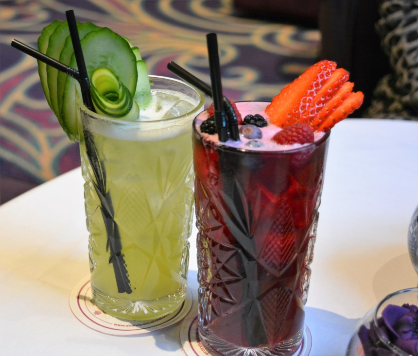 Gin Cocktails at Strand Palace Hotel
