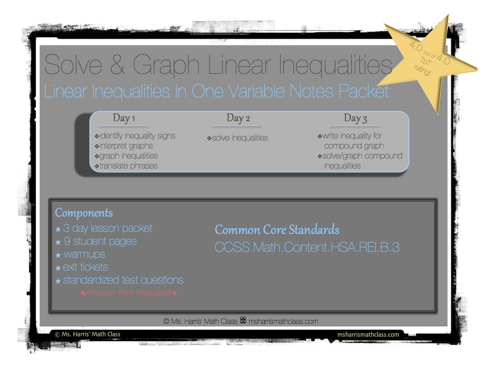 Linear Inequalities Solve Amp Graph Interactive Student