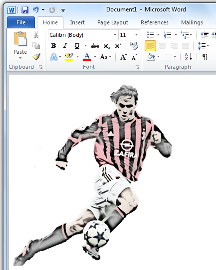 Applied Artistic Effects on an Image - Office 2010