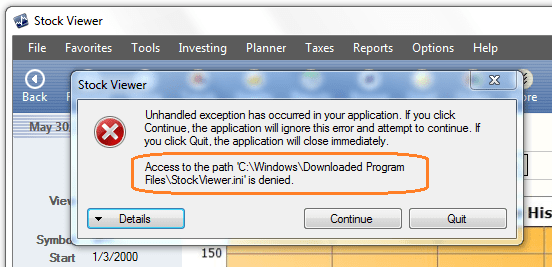 File Access Error