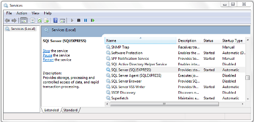 SQL Server Express - Installation