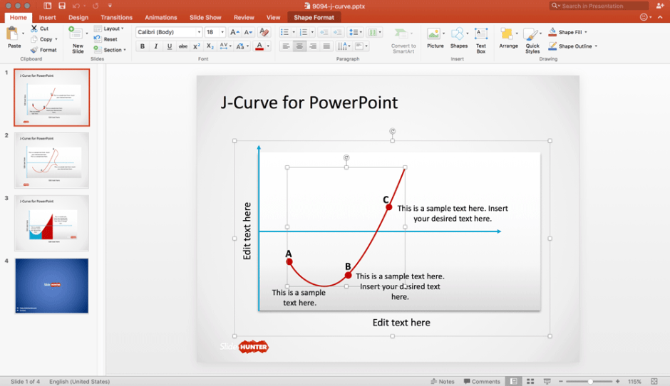 download free professional powerpoint templates at slidehunter, Modern powerpoint