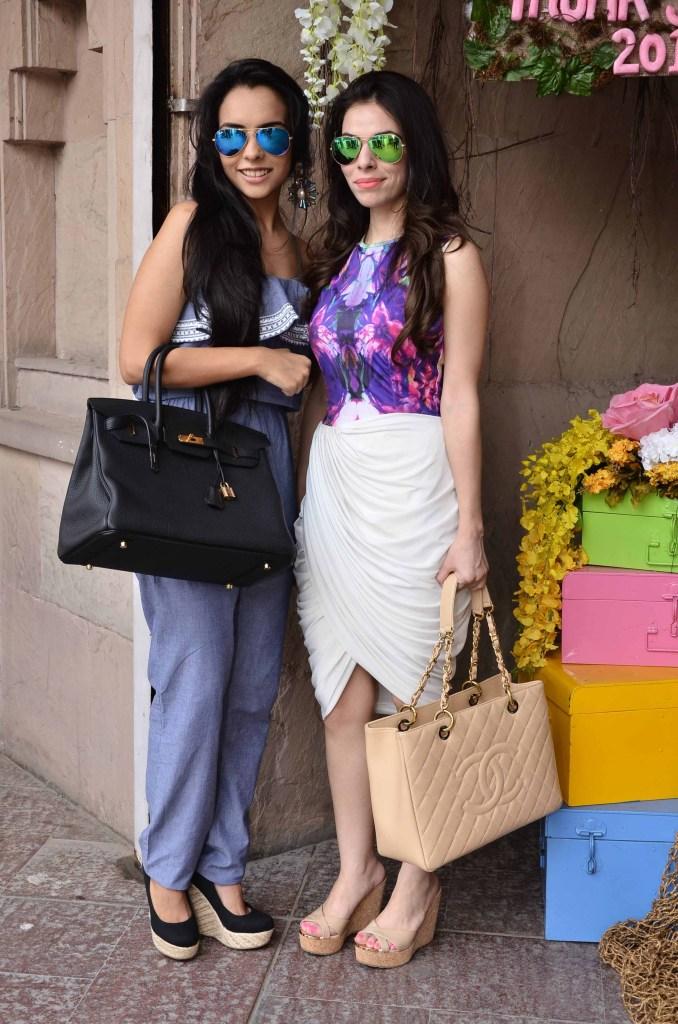 Shreya Dalmia Agarwal and Sonam Pall
