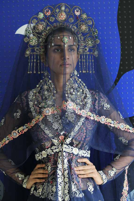Suneet Varma for BMW India Bridal Fashion Week 2015