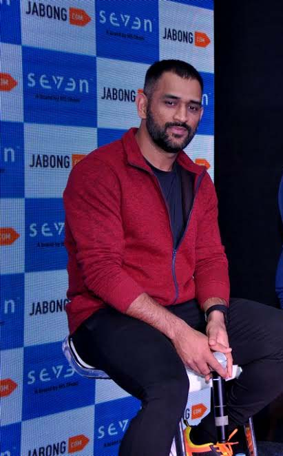 Mahendra Singh Dhoni at Jabong's event in Delhi