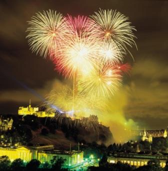 Scotland Hogmanay Fireworks