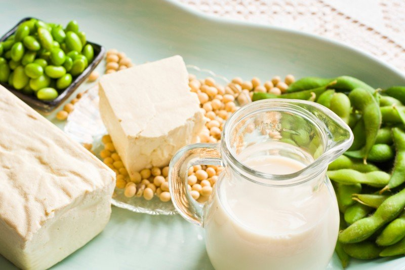 Soy and products made from it, like soy milk and tofu, could have an effect on genes involved in breast cancer growth.