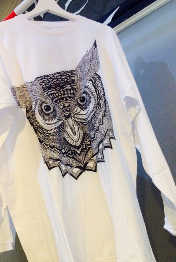 image owl print