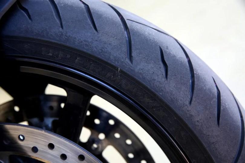 Worn-tyres