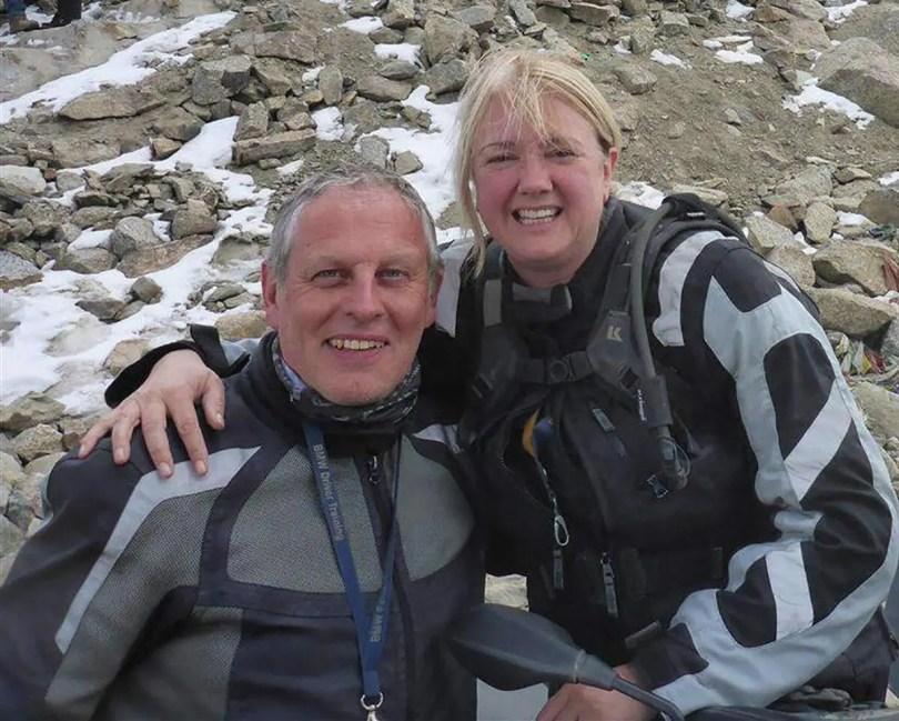 Overland experts Kevin and Julia Sanders