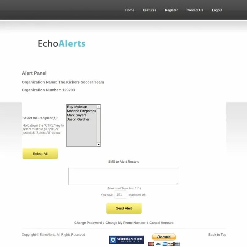 EchoAlerts