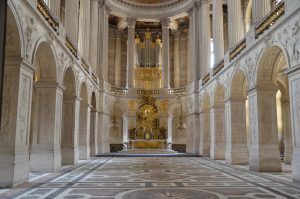 Chapel at the Chateau de Versailles