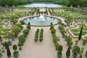A Small Section of the Gardens at Versailles