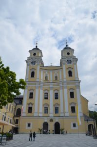 The Cathedral in Mondsee, Austria