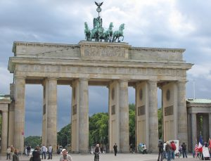 The Brandenburg Gate Berlin, Germany