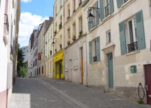 The Yellow Building is la Bien Aimee, Paris, France
