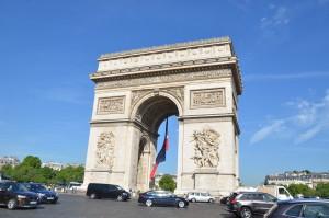 Arc de Tripmphe, Paris, France