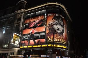 Les Miserables Marquis, London, England