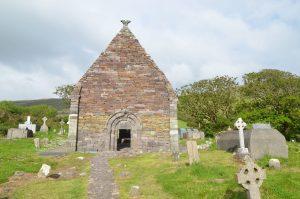 Kilmalkedar Church, Dingle Peninsula, Ireland