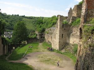 Rheinfels Ruins, St. Goar, Germany