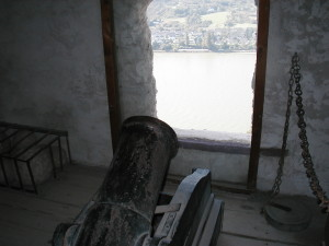 Cannon at the Ready, Marksburg Castle