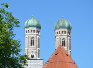 Frauenkirche Towers, Munich, Germany