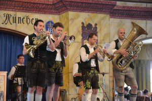Oompah Band at the Hofbrauhaus