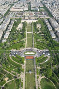 The Champ de Mars Park, Paris A Great Place to Read, Sketch or Take Photos