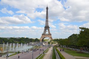 View from the Trocadero, Paris