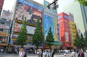 Akihabara, Electronics Shopping Area, Tokyo, Japan