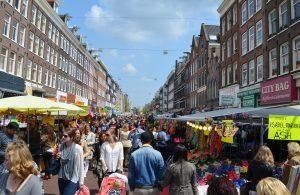 The Albert Cuypmarkt, Amsterdam, Netherlands