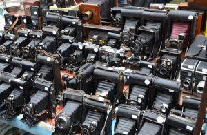 Antique Cameras on Portobello Road, London