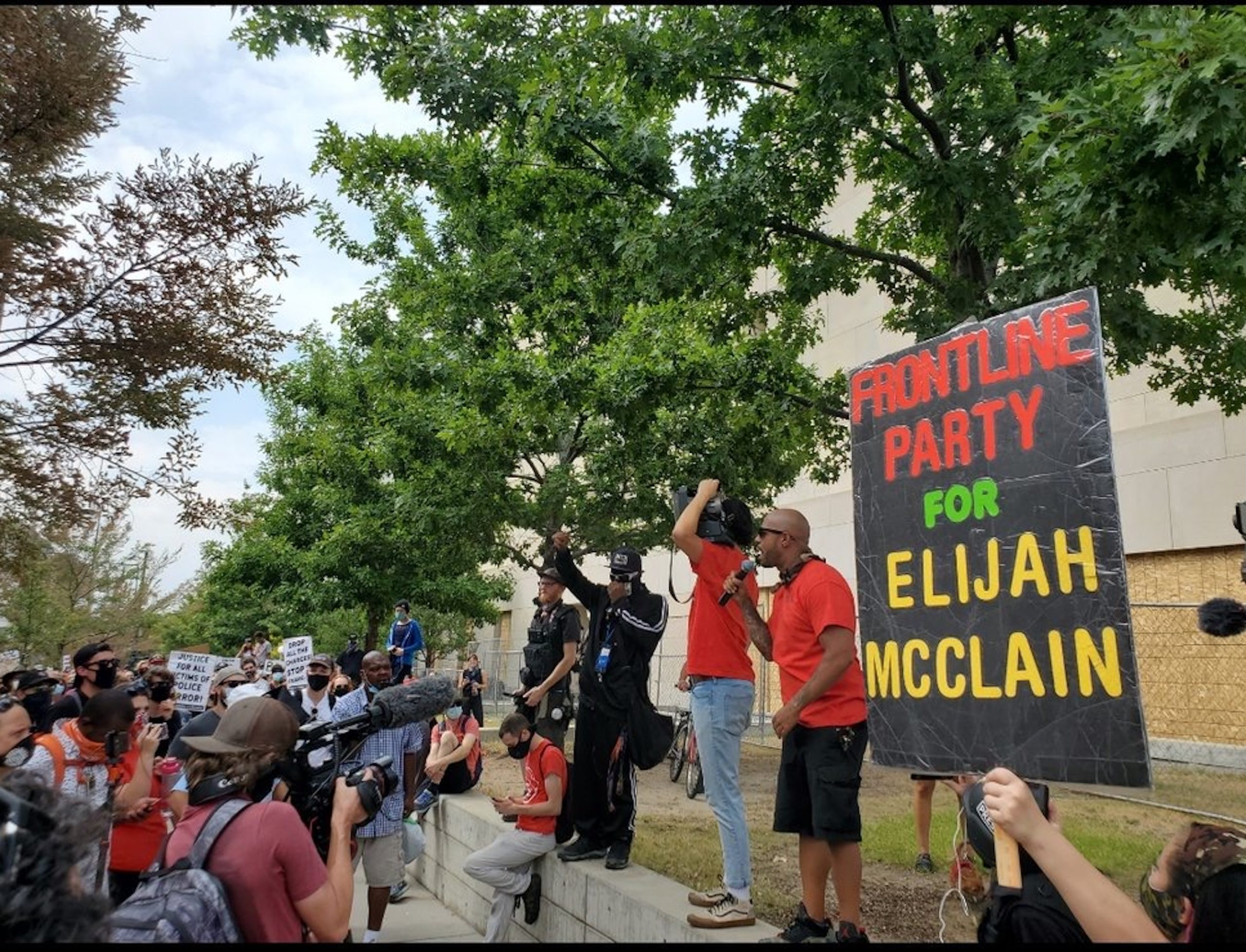 PSL holds rally to protest the arrests and charges of local organizers