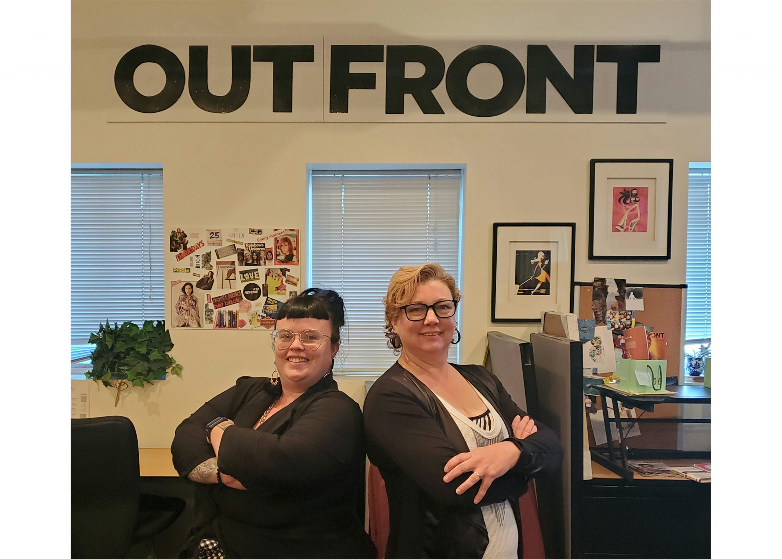 Out Front Magazine looks to the future under new female ownership