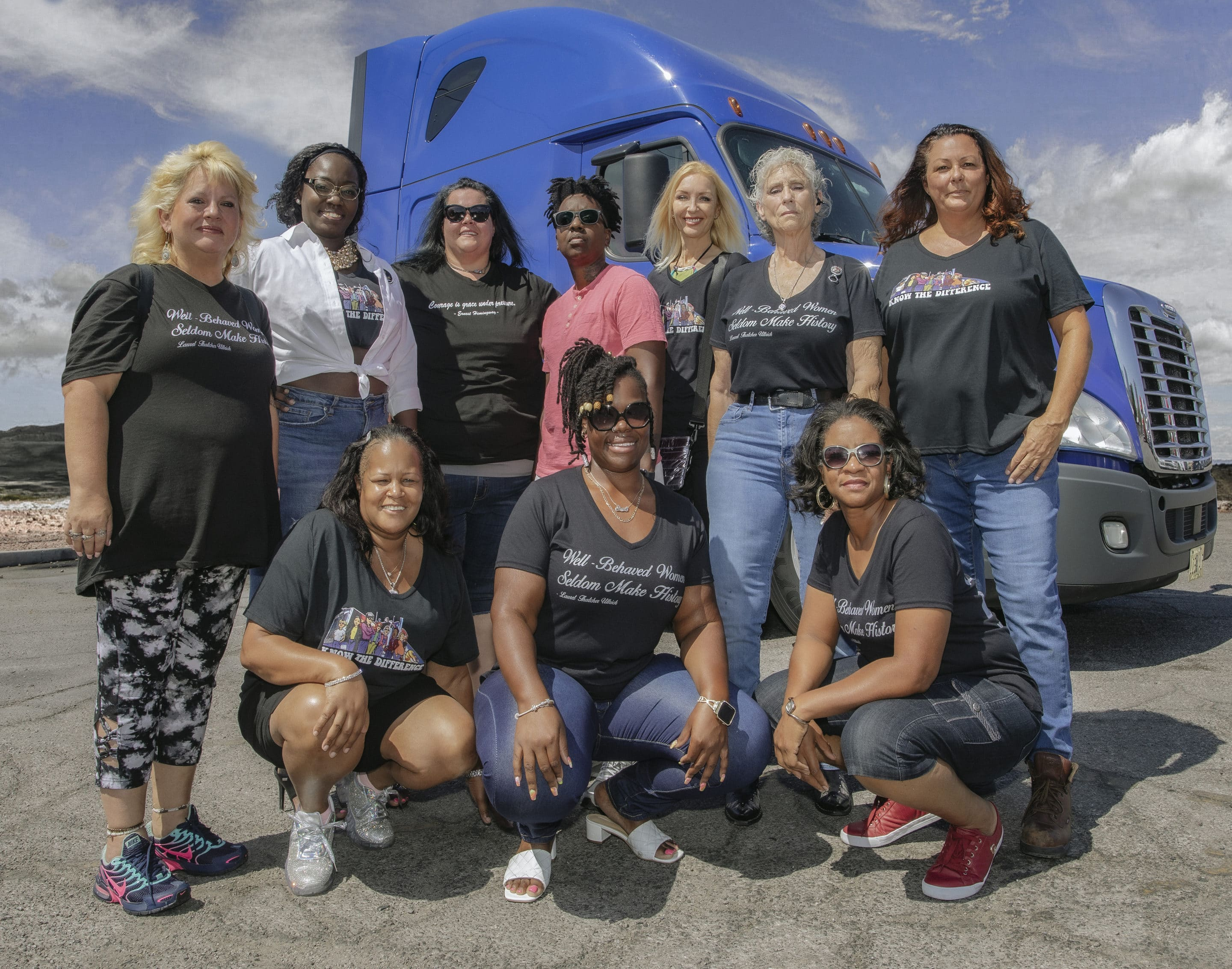 As shortage persists, women truck drivers combat industry sexism