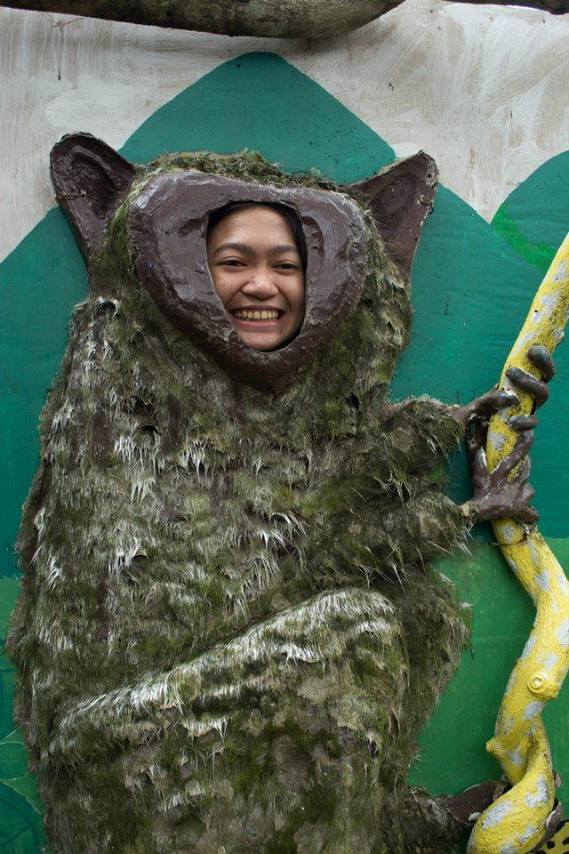 Nope, that's not a real tarsier.
