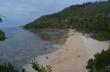 Travel to Hermits Cove, Cebu