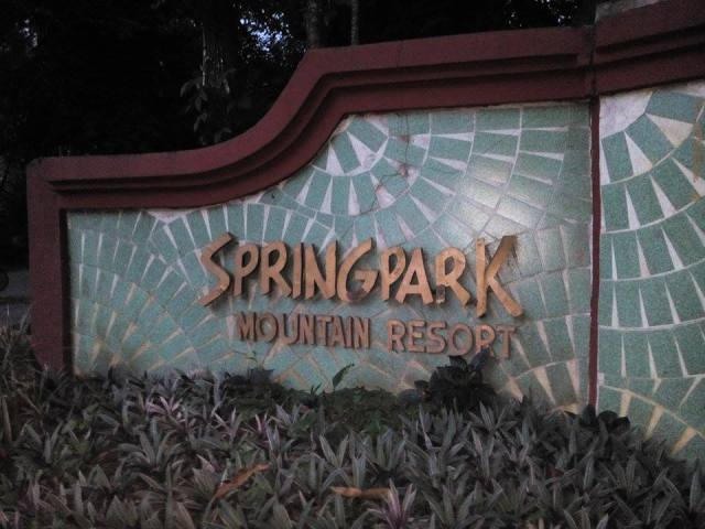 Welcome to Spring Park Mountain Resort