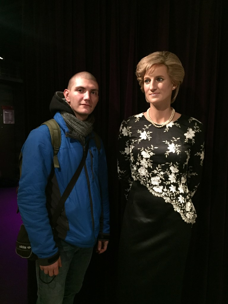 Dimitar and Princess Diana