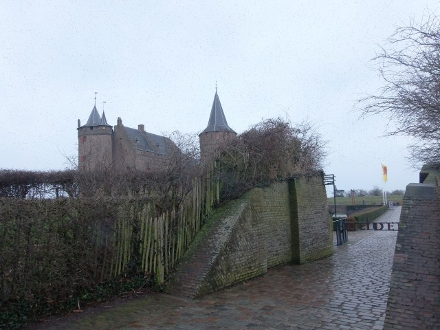 Muiderslot Castle view from the entrance