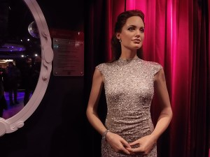 Angelina Jolie at Madame Tussauds